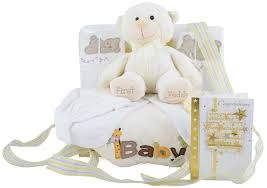 Baby Basket Gifts Deluxe Unisex Baby Gift Basket At 59 99