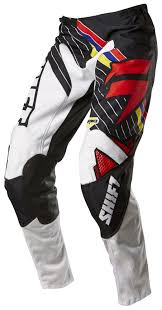 shift motocross helmets shift strike stripes pants revzilla