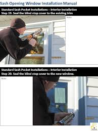 Window Blind Stop - installation manual job forman responsibilities ppt download
