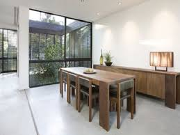 a narrow dining table to enhance a small apartment u2013 home decor
