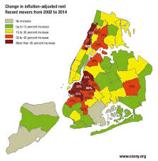 map of nyc areas the only three non gentrifying neighborhoods in new york city