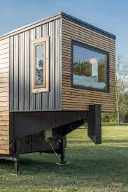 alpha tiny house escher tiny home new frontier tiny homes