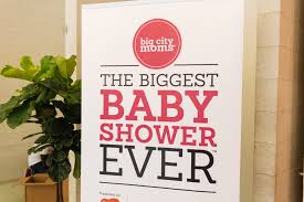 the 42nd biggest baby shower new york city big city moms