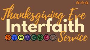 interfaith thanksgiving service united christian parish