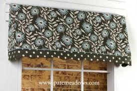 sadie curtain valance sewing pattern