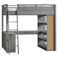 teenage bunk beds with desk teen loft beds bunk beds pbteen
