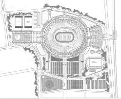 Stadium Floor Plans Jawaharlal Nehru Stadium New Delhi Arena Building E Architect