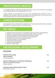 Job Resume Key Skills by Resume Writing With Resume Templates Dadakan