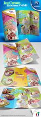 ice cream brochure trifold psd template by antyalias graphicriver