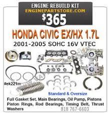 05 07 dodge dakota 4 7 v8 high output engine rebuild kit vin j