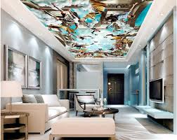 online buy wholesale 3d football wall murals from china 3d custom photo 3d ceiling murals wall paper playing football star sky decor painting 3d wall murals