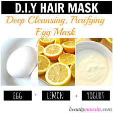 3 egg hair mask recipes for gorgeous hair beautymunsta