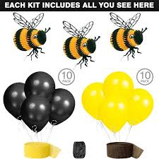 bumblebee party supplies bumble bee party decoration kit party supplies walmart