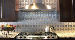 stainless steel kitchen backsplash stainless backsplashes metal store