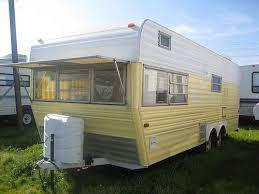 vintage rv restored 1971 layton travel trailer vintage rv