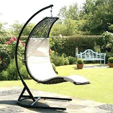 hanging garden furniture full image for hanging outdoor pod chair