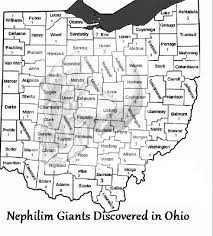 Map Of Pike County Ohio the encyclopedia of ancient giants nephilim in north america