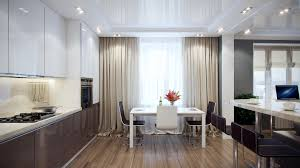 Long Kitchen Curtains by Choosing The Right Kitchen Window Treatments Interior Design