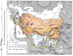 Mongol Empire Map Unit 4 Maps U0026 Map Assignments
