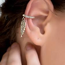 ear cuffs online buy angel wing ear cuff online india fourseven