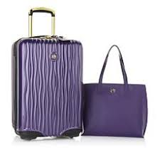 curations by couture ls luggage hsn