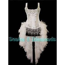 White Corset Halloween Costumes 15 Showgirl Costumes Images Burlesque Costumes