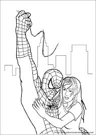 kids spiderman coloring pages 3229 bestofcoloring