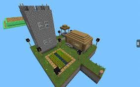 Mpce Maps Skypiea Super Skyblock Map World Boss Herobrine In Game