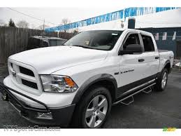 2011 dodge ram 1500 for sale 2011 dodge ram 1500 slt outdoorsman crew cab 4x4 in bright white