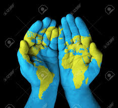 Asia World Map by World In Hand Asia Stock Photos U0026 Pictures Royalty Free World In