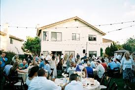 san diego wedding venues san diego backyard wedding ruffled
