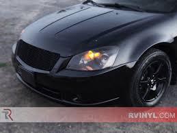 purple nissan altima rtint nissan altima 2005 2006 headlight tint film