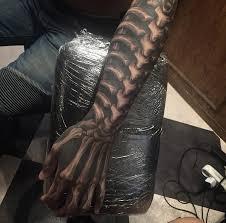 spine rib cage u0026 hand bones best tattoo design ideas