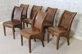 Leather Dining Chair Unique Vintage Style Chairs With Vintage Style Leather Chair Dining