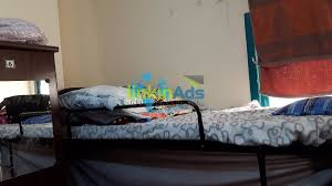 3 lady bedspace and wooden partition in al rigga shared apartment