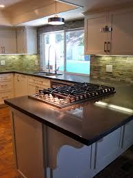 tasty kitchen peninsula with cooktop sherri cassara designs a