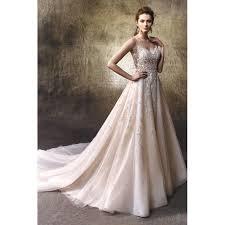wedding dresses online shop lulu by enzoani lace tulle floor straps v neck a line princess