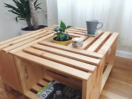 Diy Wood Crate Coffee Table by Diy Crate Coffee Table U2014 Anton Pugachevsky