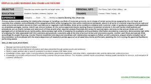 islamic banking abu dhabi uae cover letter u0026 resume
