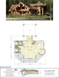 100 pioneer log homes floor plans 100 cabin layouts 100