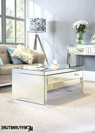 Mirror Living Room Tables Mirrored Living Room Furniture And Mirrored End Tables 43