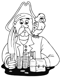 pirate printable coloring pages coloring