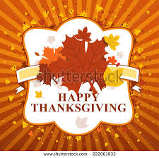 happy thanksgiving day leaves banner stock vector 222061933