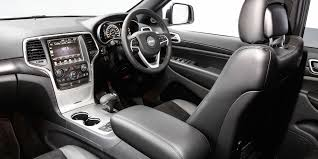 jeep cherokee sport interior 2016 jeep cherokee grand cherokee blackhawk specials launched photos