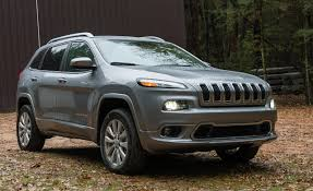jeep cherokee grey 2017 2017 jeep cherokee overland 4x4 tested review car and driver