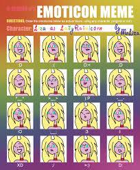 Emoticon Memes - tdat ch 5 emoticon meme by msliza on deviantart