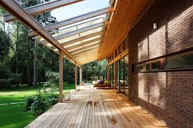 Contemporary Retractable Awnings Awnings For Decks Porch Contemporary With Brick Covered Porch