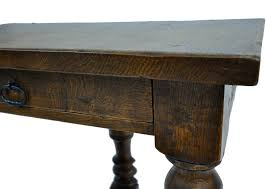 Oak Side Table Antique Oak Side Table Can Be Combined With Oval Table As A Set