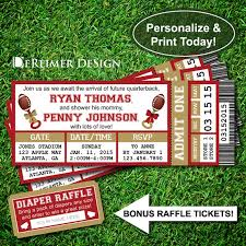 football baby shower 2 stunning sports football baby shower invitation template