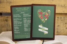 wedding program book 10 wedding programs your guests will want to keep